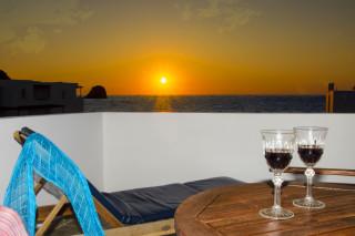 milos villa sosanna apartment balcony