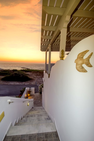 milos villa sosanna apartments grounds