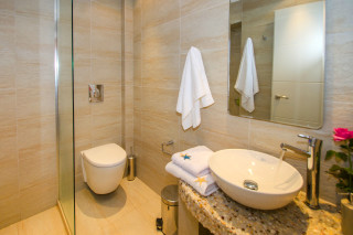 milos villa sosanna apartments shower