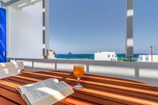 milos villa sosanna balcony view