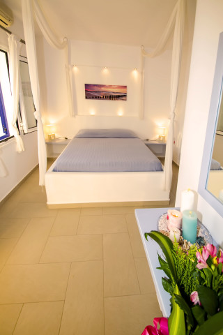 milos villa sosanna bedroom area