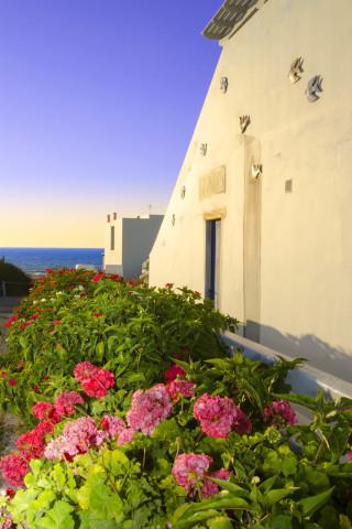 milos villa sosanna studios with sea view